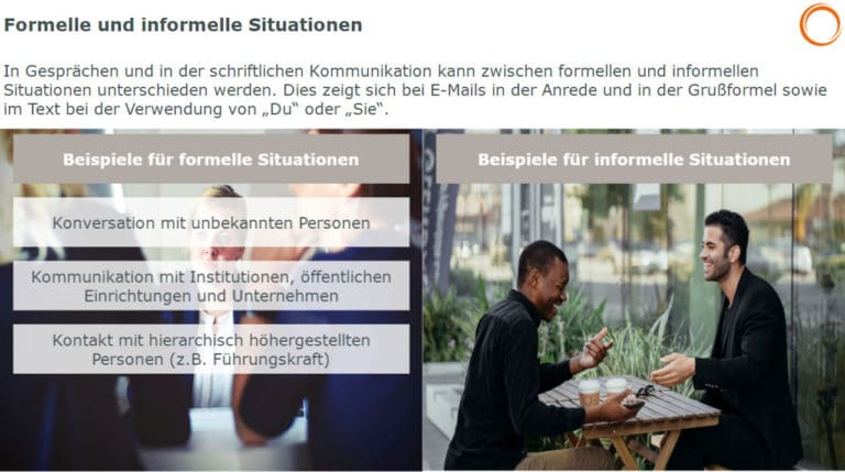 E-Mail: Formelle und informelle Situationen